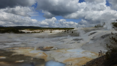 Norris Basin, Yellowstone National Park