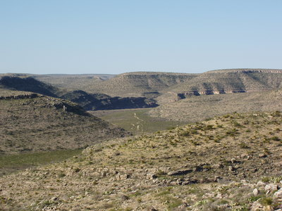 Dark Canyon, Guadalupe Mountains, New Mexico.